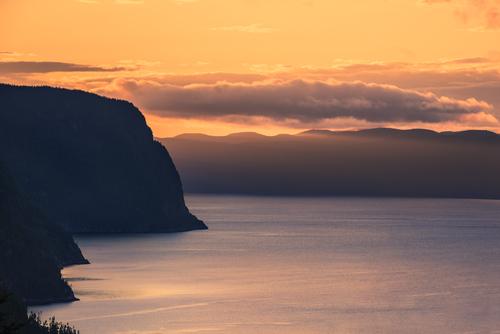 Promotion Saguenay - Rivière Saguenay, coucher de soleil.jpg